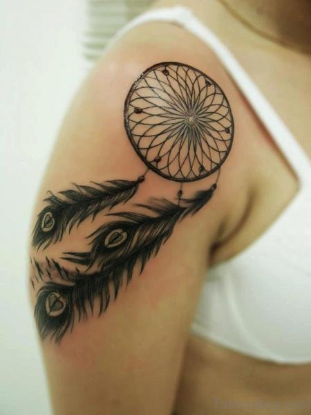 Fantastic Dream Catcher Tattoo