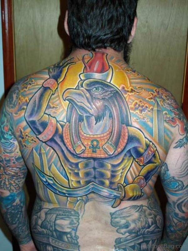 Fantastic Egyptian Tattoo Design