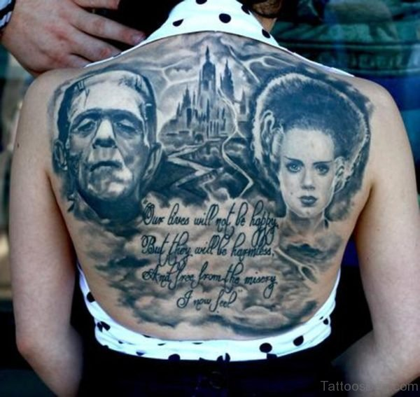 Fantastic Horror Tattoo