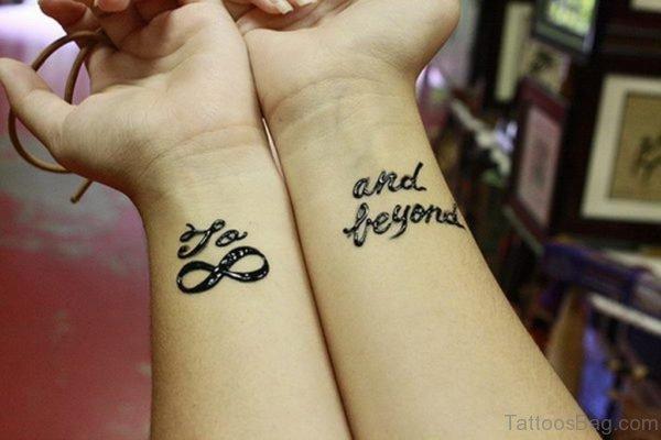Fantastic Infinity Tattoo