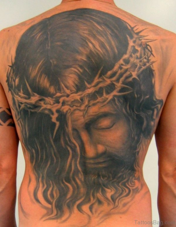Fantastic Jesus Tattoo Design