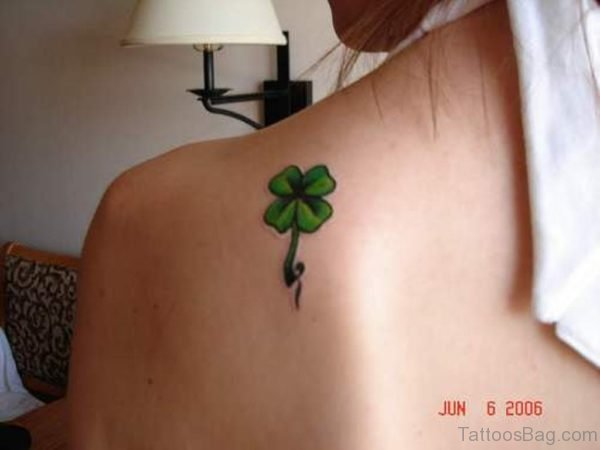 Fantastic Leaf Tattoo