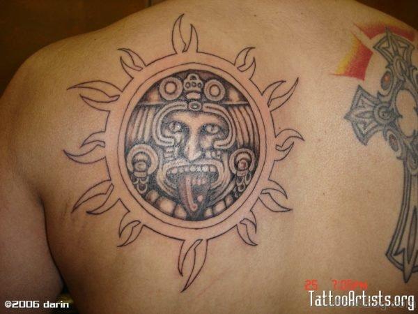 Fantastic Sun Tattoo