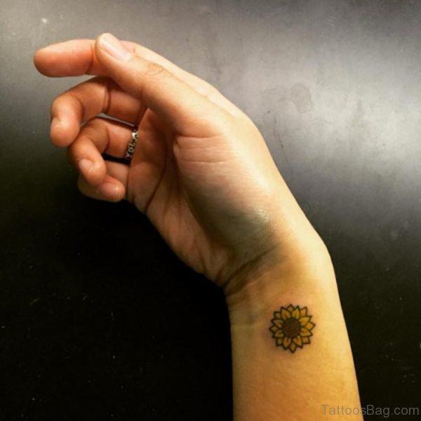 Fantastic Sunflower Tattoo