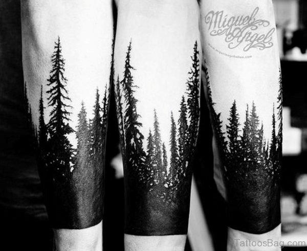 Fantastic Tree Tattoo