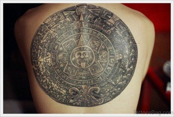 Fantastic Tribal Tattoo On Back