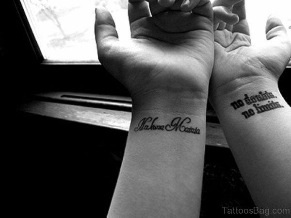 Fantastic Word Tattoo