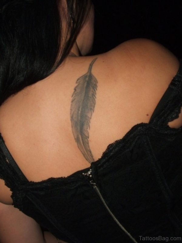 Nice Feather Tattoo