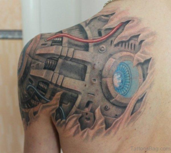 Fine Biomechanical Tattoo