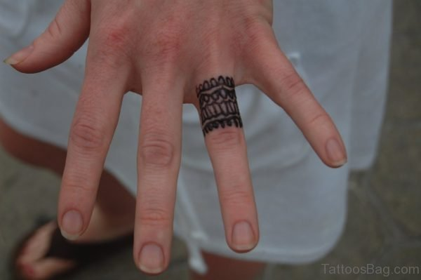 Fine Finger Tattoo