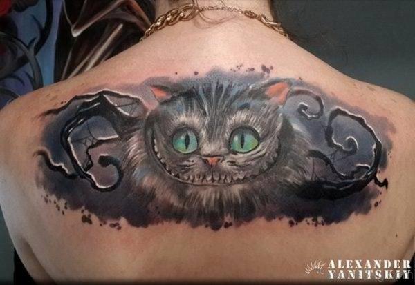 Fine Looking Cat Tattoo