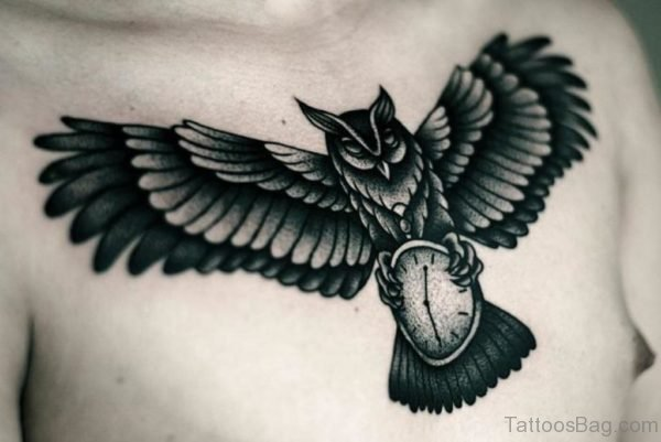 Fine Owl Tattoo