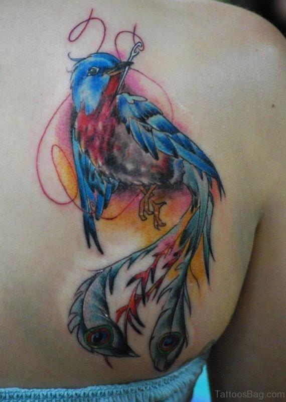 Fine Phoenix Tattoo