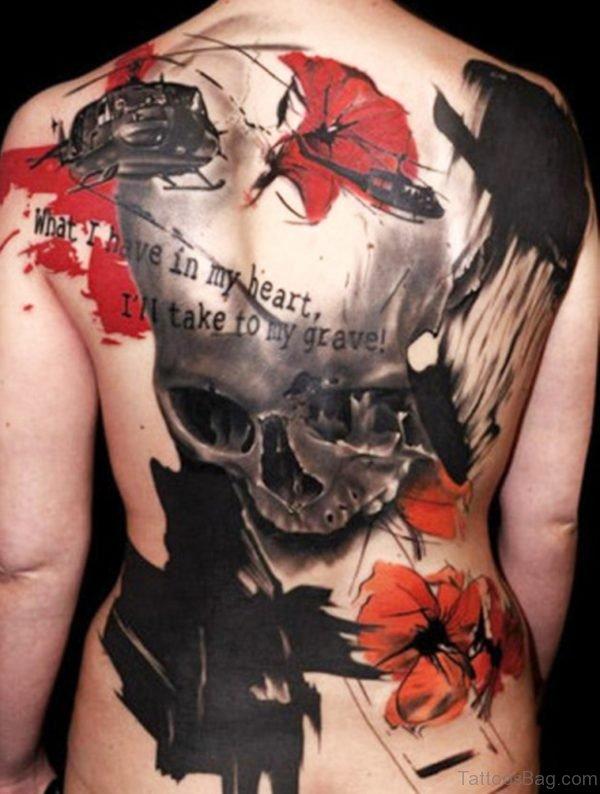 Fine Skull Tattoo