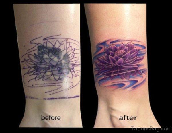 Flower Tattoo On Wrist