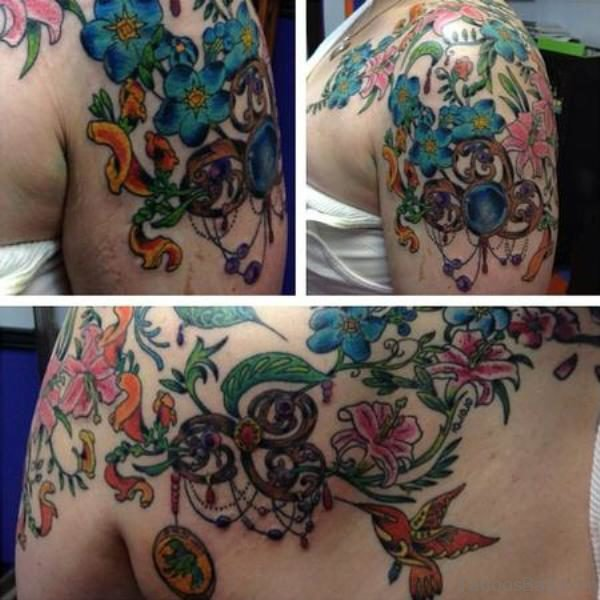 Flowers Design Tattoo