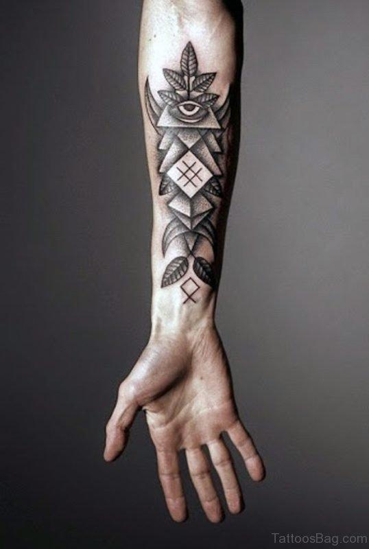 Forearm Tattoo On Wrist