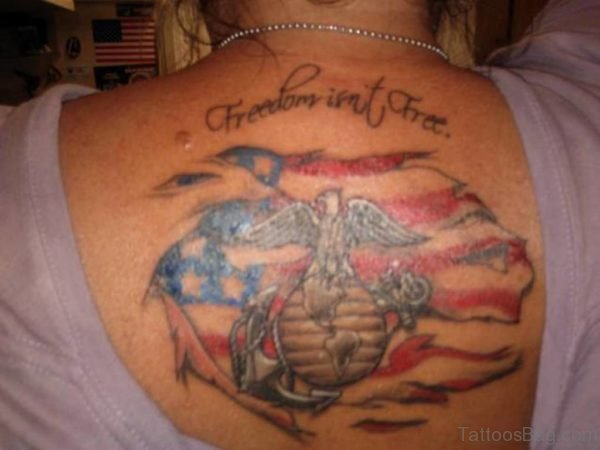 Freedom Patriotic Tattoo
