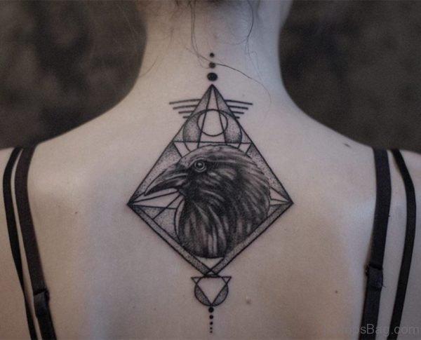 Funky Geometric Tattoo Design