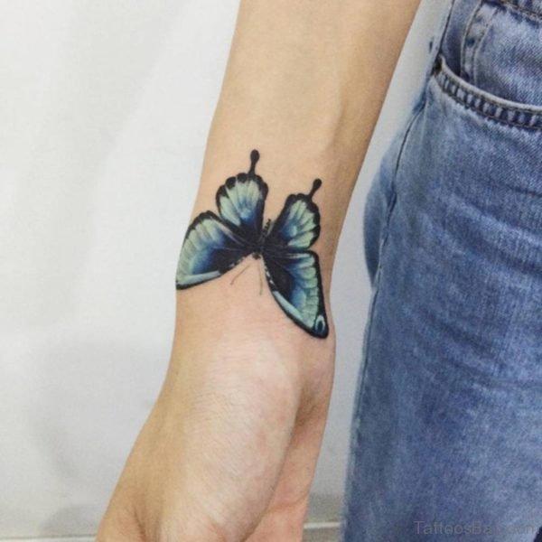 Funky Butterfly Tattoo