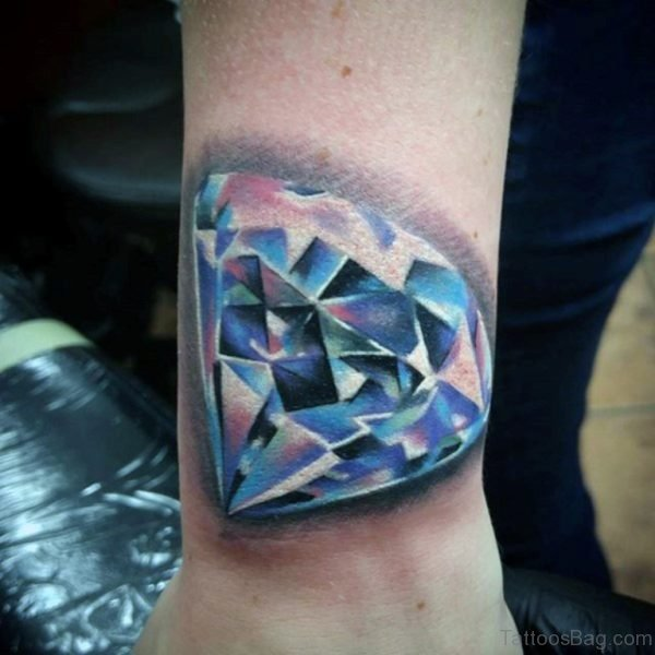 Funky Diamond Tattoo