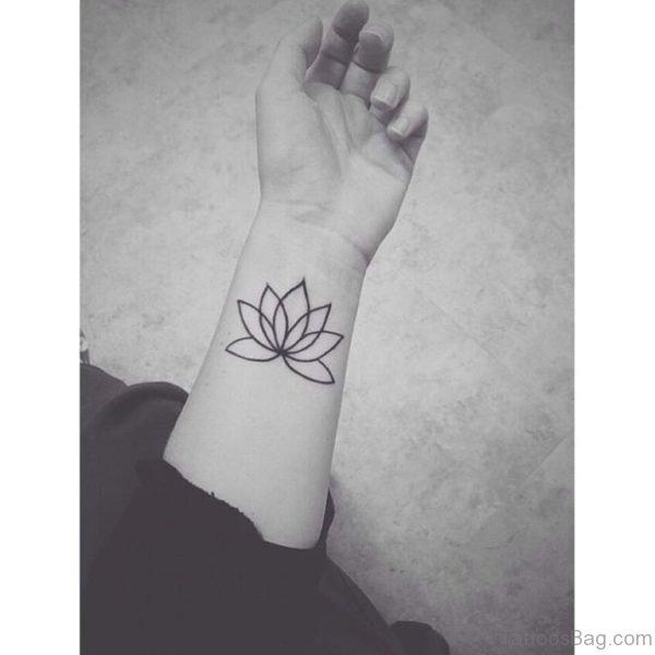 Funky Lotus Tattoo