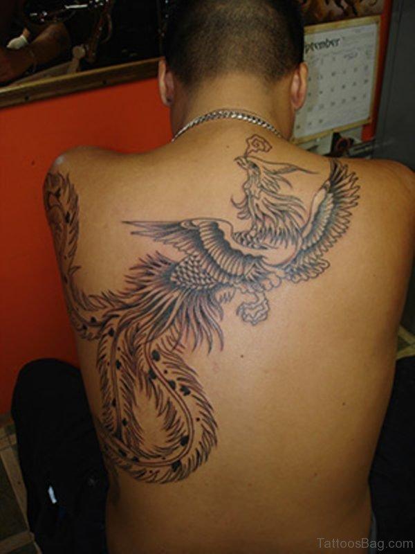 Funky Phoenix Tattoo