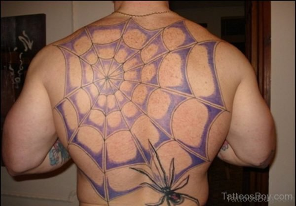Funky Spider Tattoo