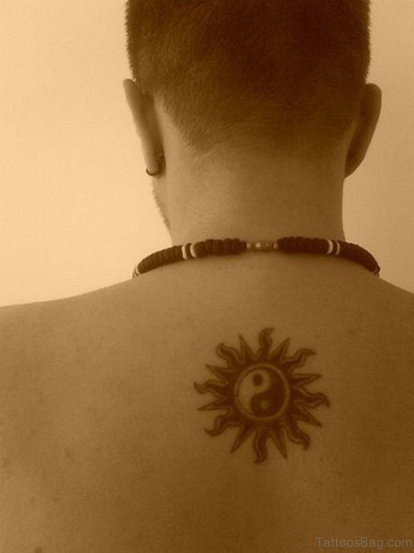 Funky Sun Tattoo