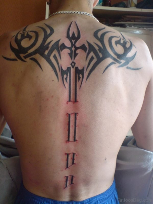 Funky Sword Tattoo