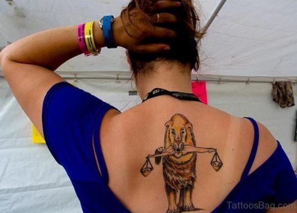 Funny Lion Tattoo
