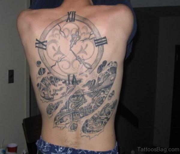 Geek Clock Tattoo