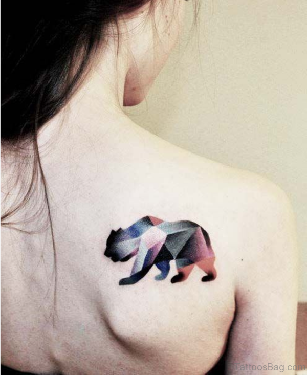 Geometric Animal Tattoo