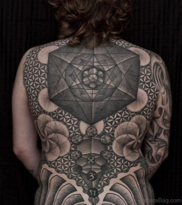 Geometric Tattoo For Girls Image