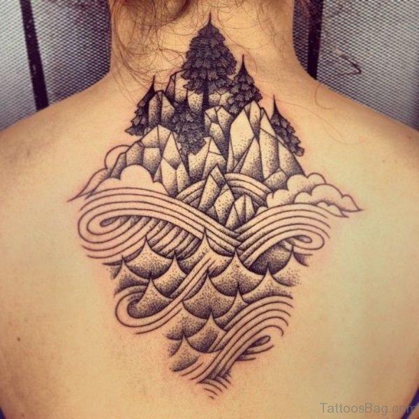 Geometric Tattoo On Image