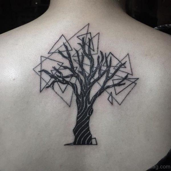 Geometric Tree  Tattoo