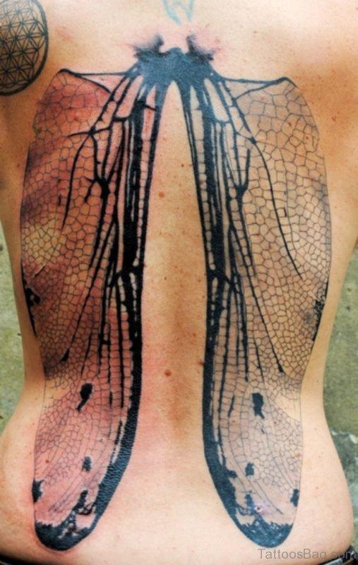 Geometric Wings  Tattoo