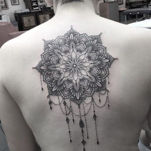 Graceful Mandala Tattoo