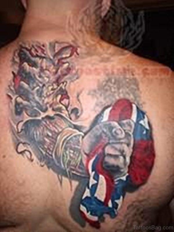 Good Looking Patriotic Tattoo