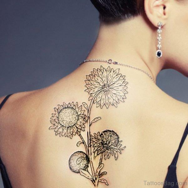 Good Looking Sunflower Tattoo