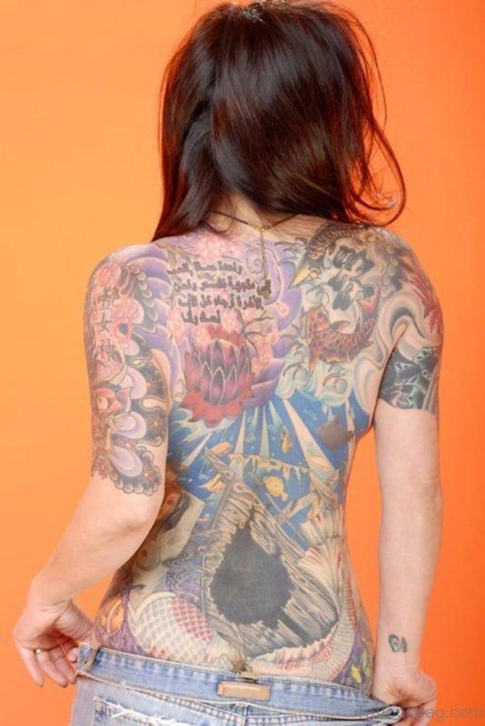 Gorgeous Back Tattoo