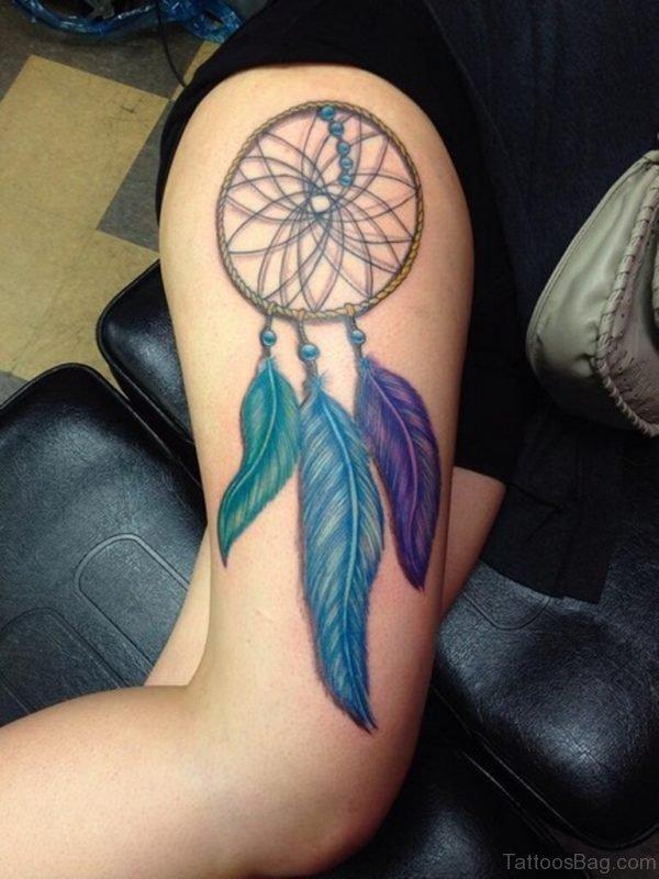 Gorgeous Dreamcatcher Tattoo Design