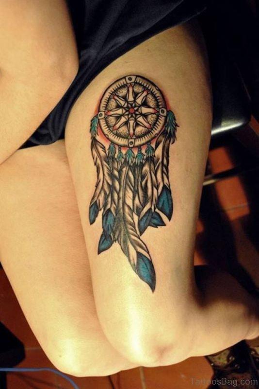 Gorgeous Dreamcatcher Tattoo
