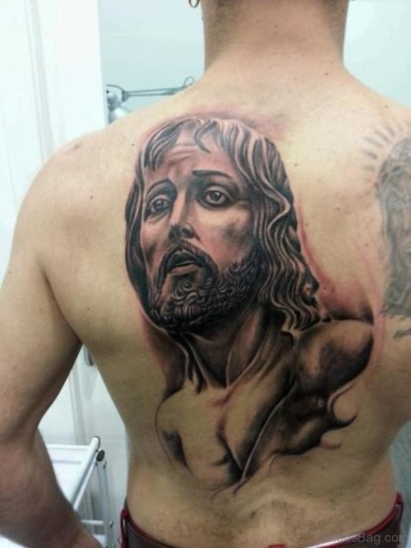 Gorgeous Jesus Tattoo