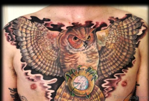 Gorgeous Owl Tattoo
