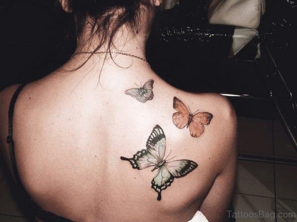 Graceful Butterfly Tattoo
