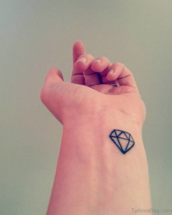 Graceful Diamond Tattoo