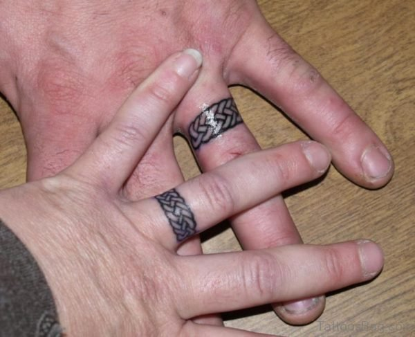 Graceful Finger Tattoo