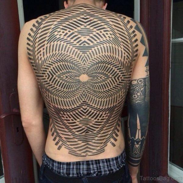 Graceful Geometric Tattoo