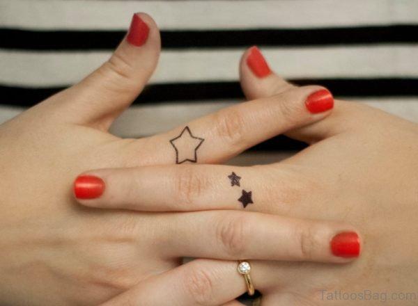 Graceful Star Tattoo